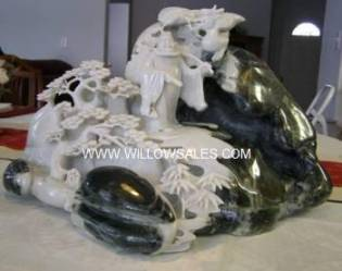 Jade dragon Sculpture Carving