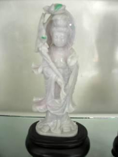 Jade Quanyin Sculpture Carving