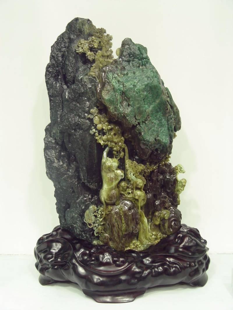 Jade carving