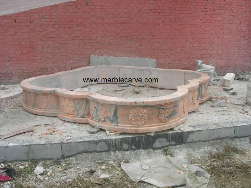 marble fountain