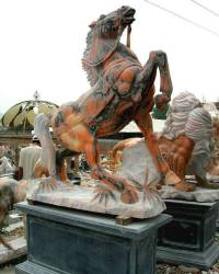 Marble Horse Carving photo